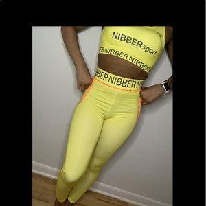 Yellow Nibber Sport Set